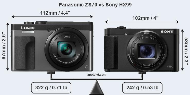 Kindle Vs Sony Reader: Panasonic ZS70 Vs Sony HX99 Comparison Review