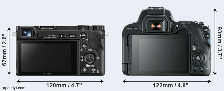 Sony A6000 Vs Canon 200d Comparison Review