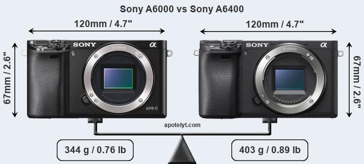 Sony A6000 vs Sony A6400 Comparison Review