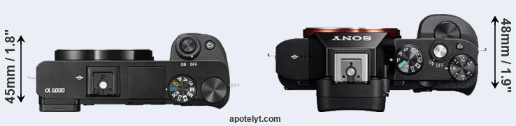 Sony A6000 vs Sony A7 Comparison Review