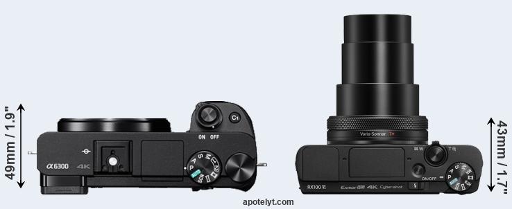 Kindle Vs Sony Reader: Sony A6300 Vs Sony RX100 VI Comparison Review