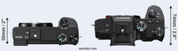 Sony A6400 vs Sony A7 III Comparison Review