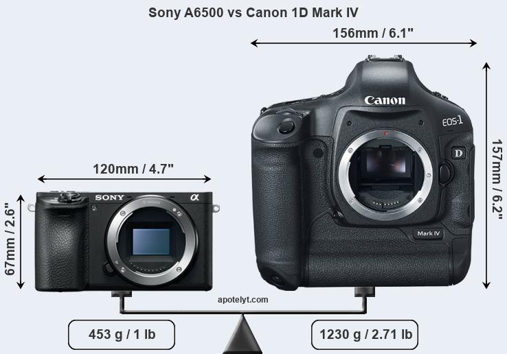 Sony A6500 vs Canon 1D Mark IV Comparison Review