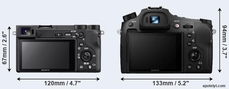 Sony A6500 vs Sony RX10 IV Comparison Review