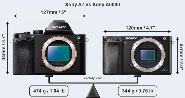 Sony A7 vs Sony A6000 Comparison Review