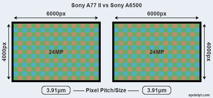 A77 II versus A6500 MP