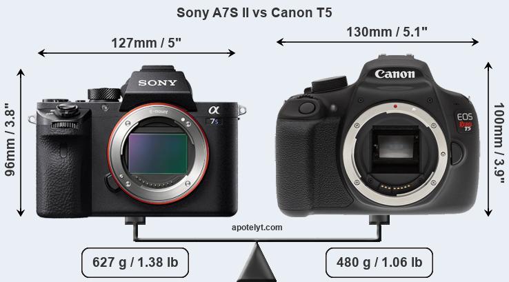 Kindle Vs Sony Reader: Sony A7S II Vs Canon T5 Comparison Review
