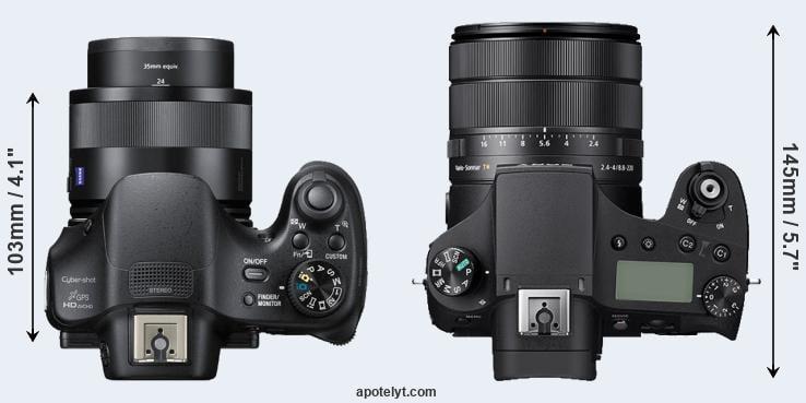 Sony HX400V vs Sony RX10 IV Comparison Review