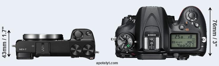 best selling online store special sales Sony NEX-7 vs Nikon D7200 Comparison Review